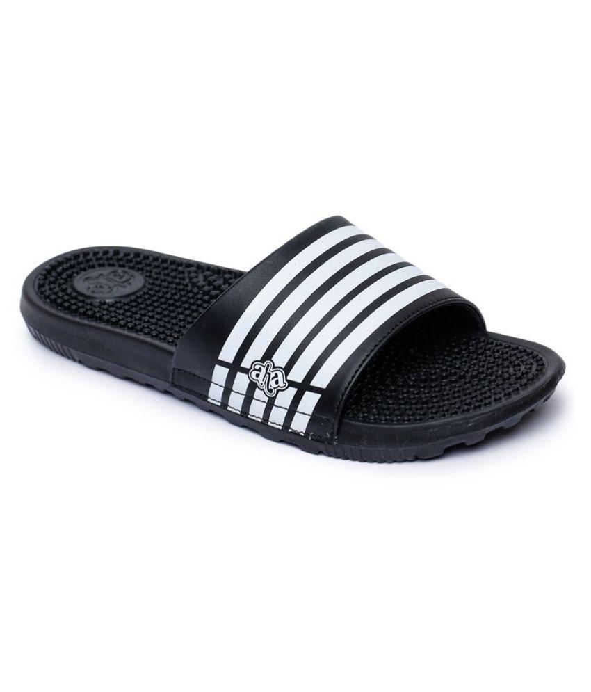 Liberty Black Slide Flip flop