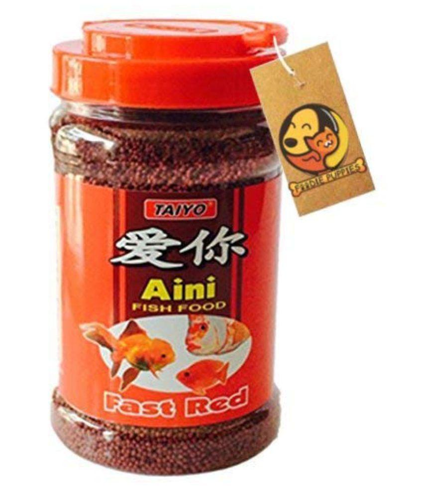TAIYO Aini Fish Food Fast Red Nutritional Food 60 GMS