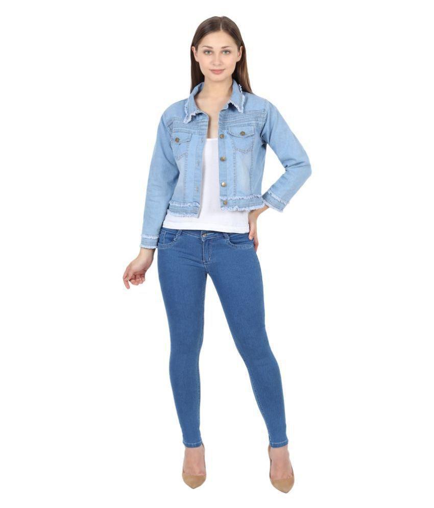 FineCreations Denim Blue Jackets