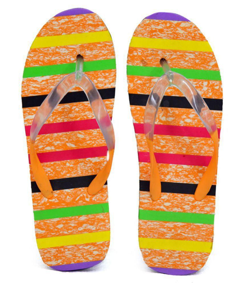 SOCCER FOOTWEAR Multi Color Slippers