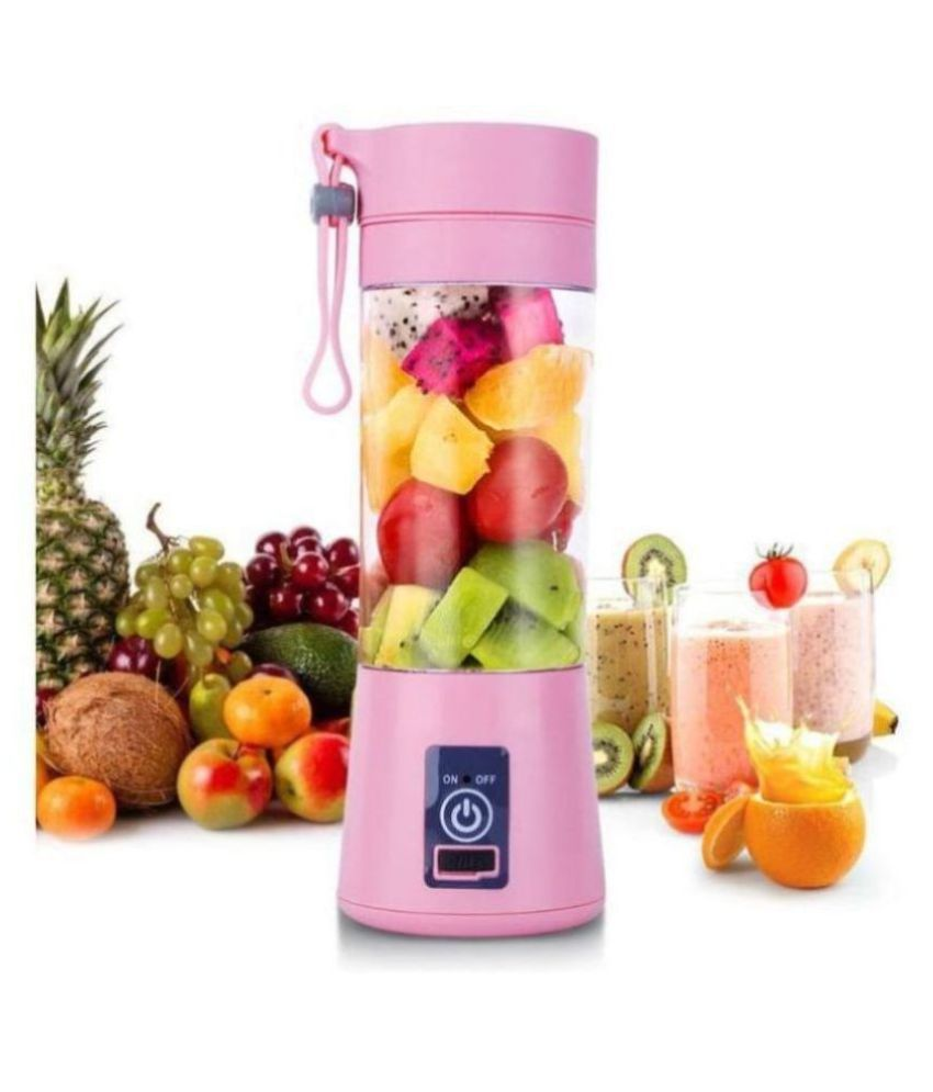 BONFIRE™  Multi-functional USB Charging Juicer Cup Rechargeable Juice Blender Portable Fruit Mixer(1Pc-Assorted Color): Buy Online at Best Price in India - Snapdeal