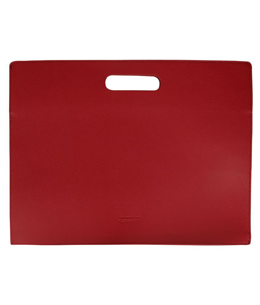 THE HOUSE OF GANGES Red Laptop Sleeves
