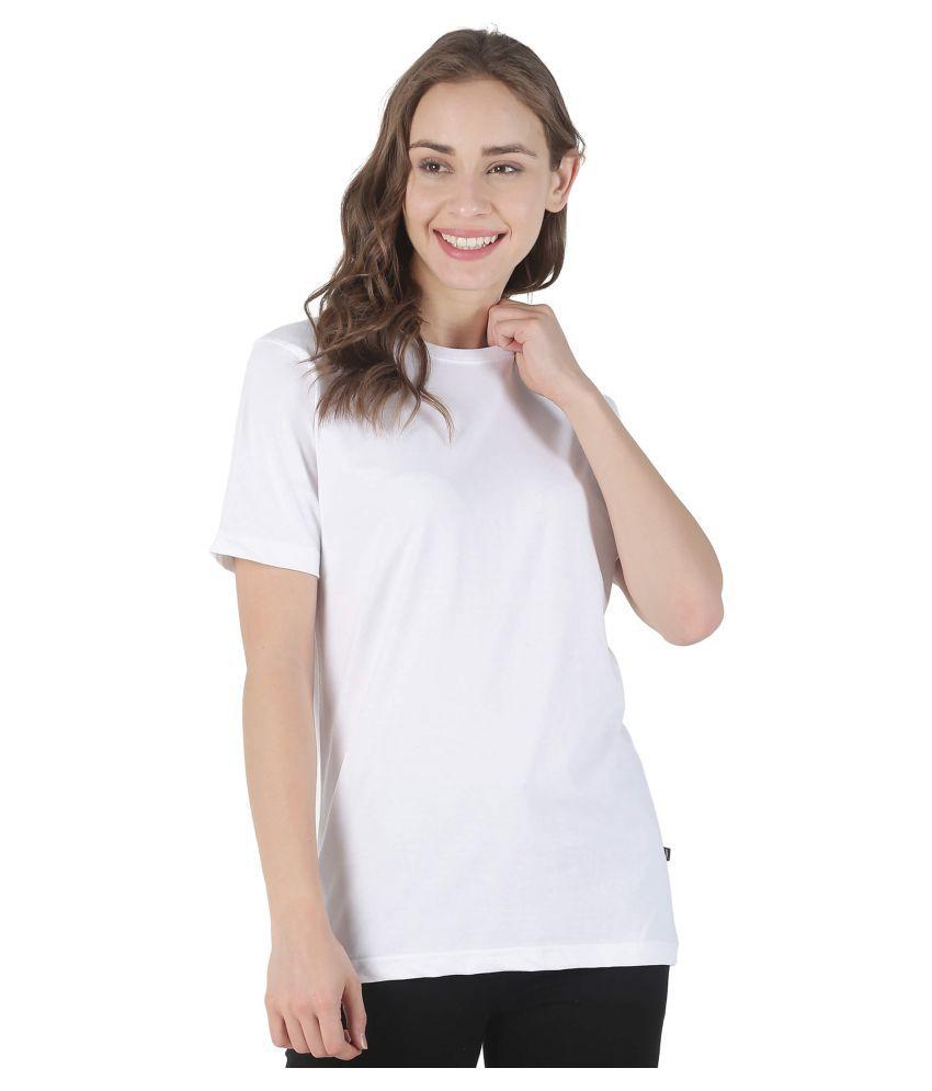 stoovs Cotton White T-Shirts