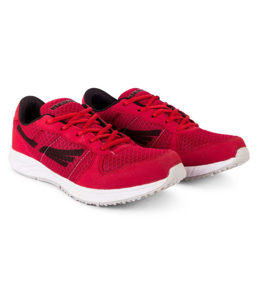 HELTH LITE Sneakers Red Casual Shoes