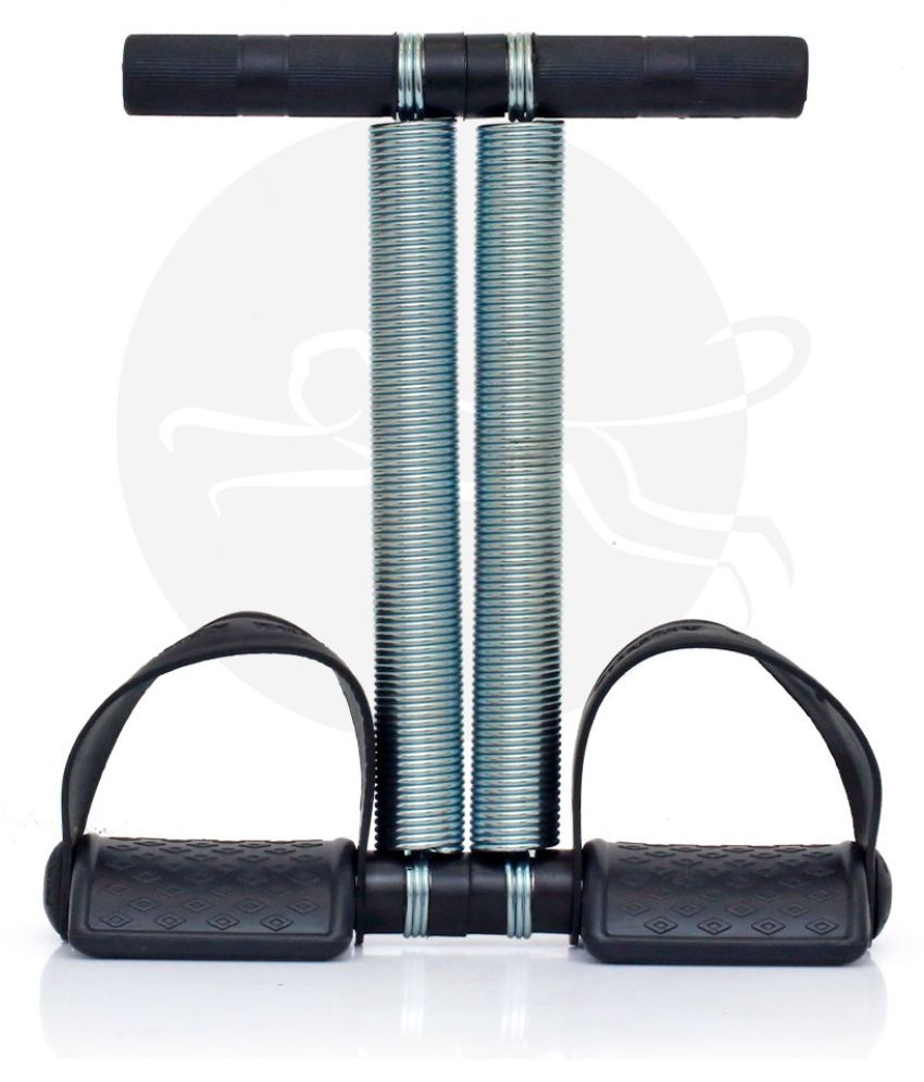 Home Gym Tummy Trimmer by FitMonkey ( Double Spring )