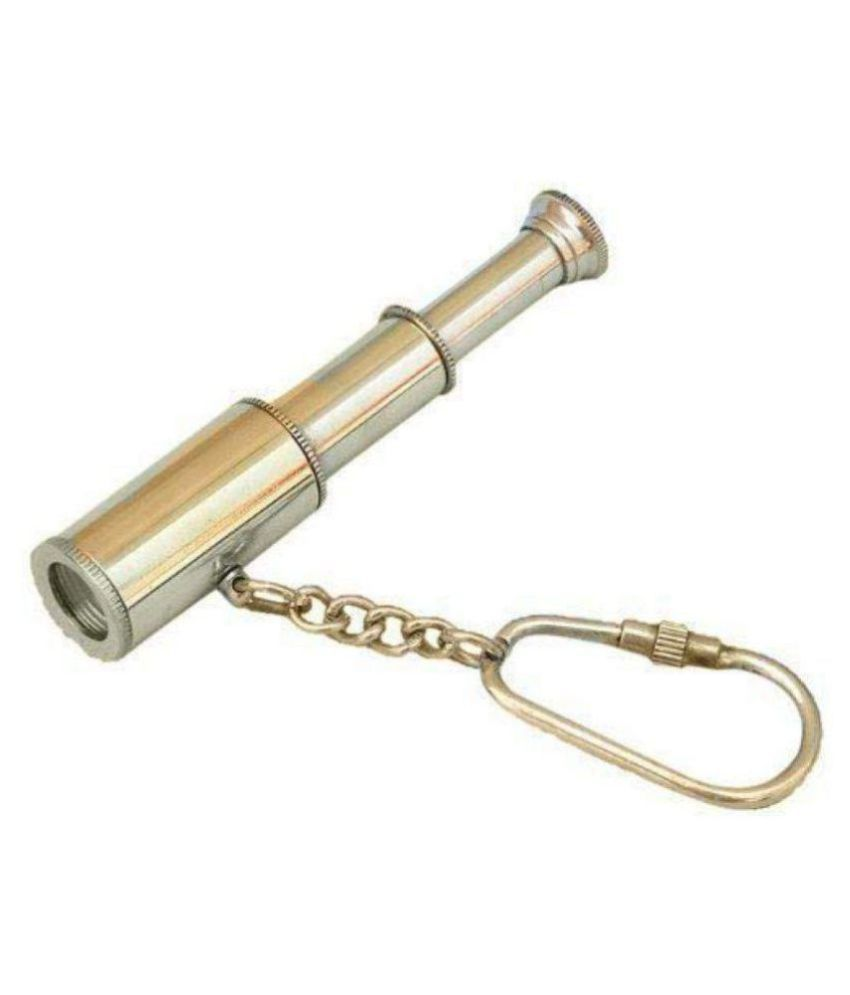 Solid Brass Telescope/Pirate Spyglass Key Chain
