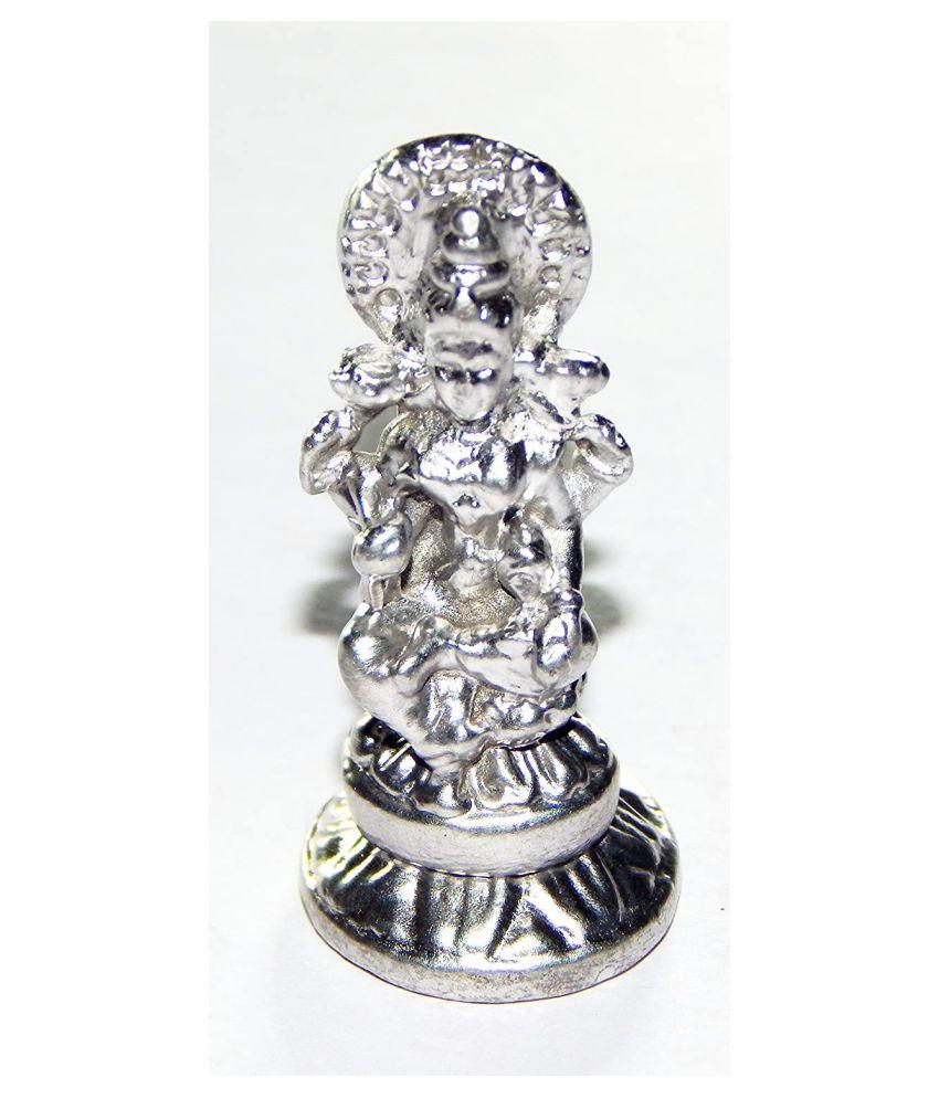 Urancia® Parad Laxmi Made of Pure Parad Mercury Idol Rasa Laxmi 29.8gms