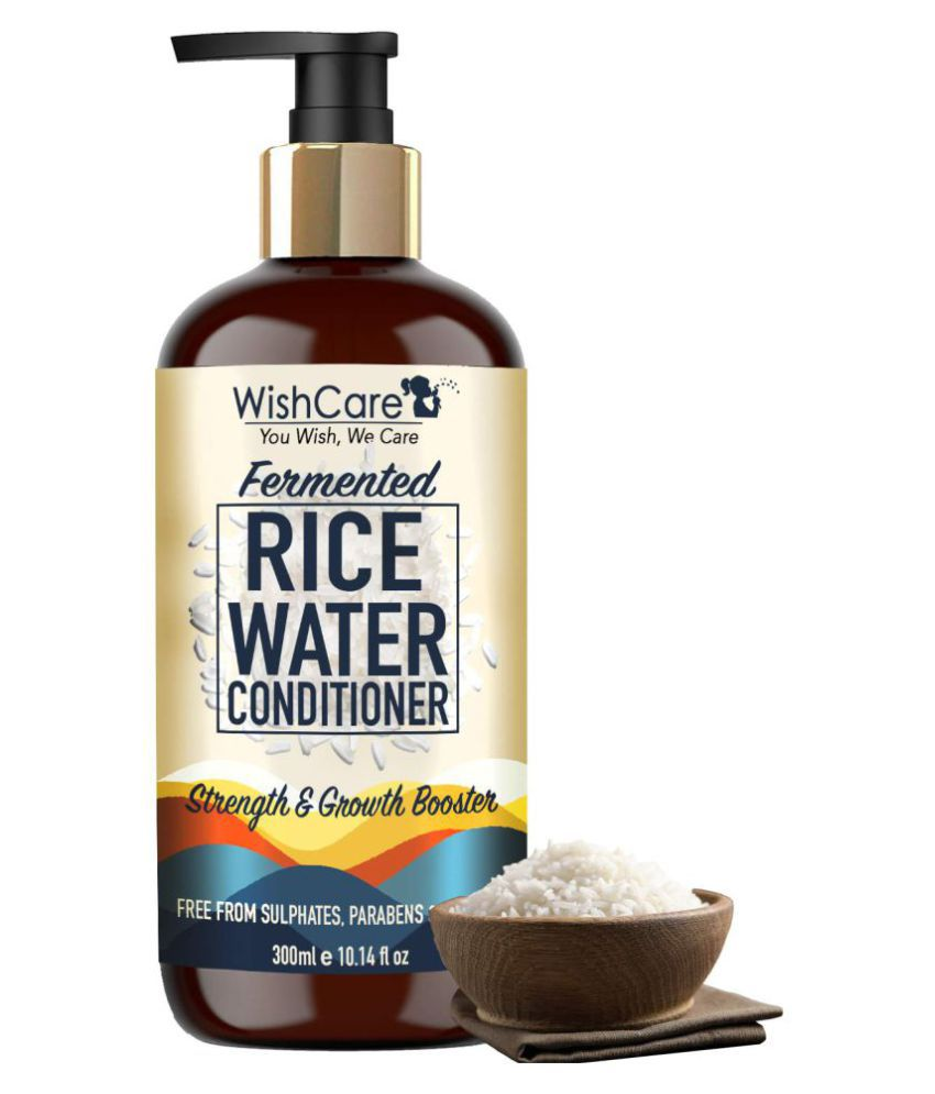 WishCare Fermented Rice Water Conditioner - Strength & Growth Formula Deep Conditioner 300 mL