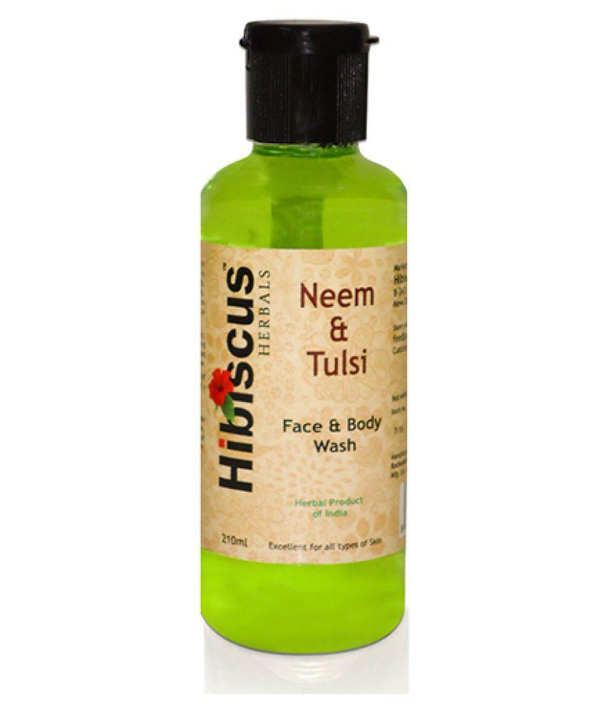 Hibiscus Herbals Neem & Tulsi Face Wash 210 mL