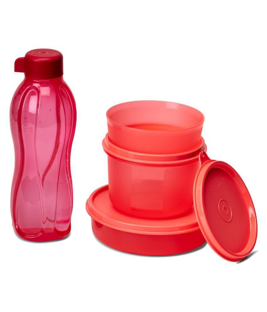 Tupperware Pink Lunch Box
