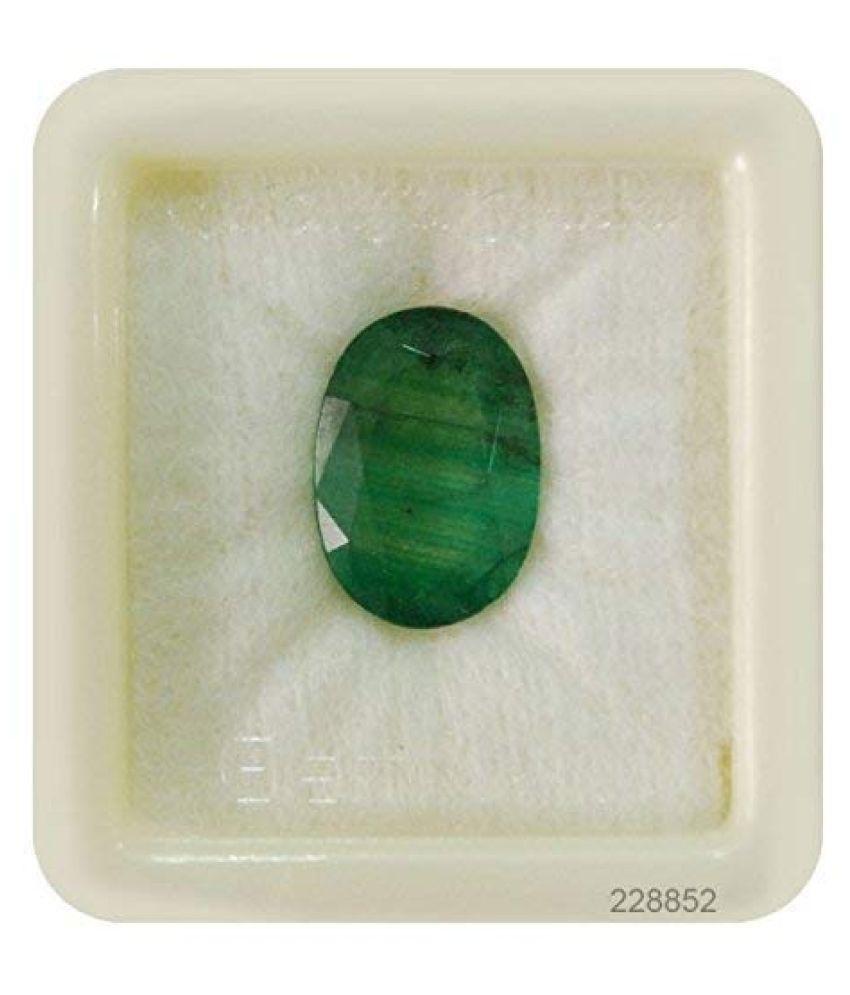 SARVNI GEMS 7 - 7.5 -Ratti Self certified Emerald
