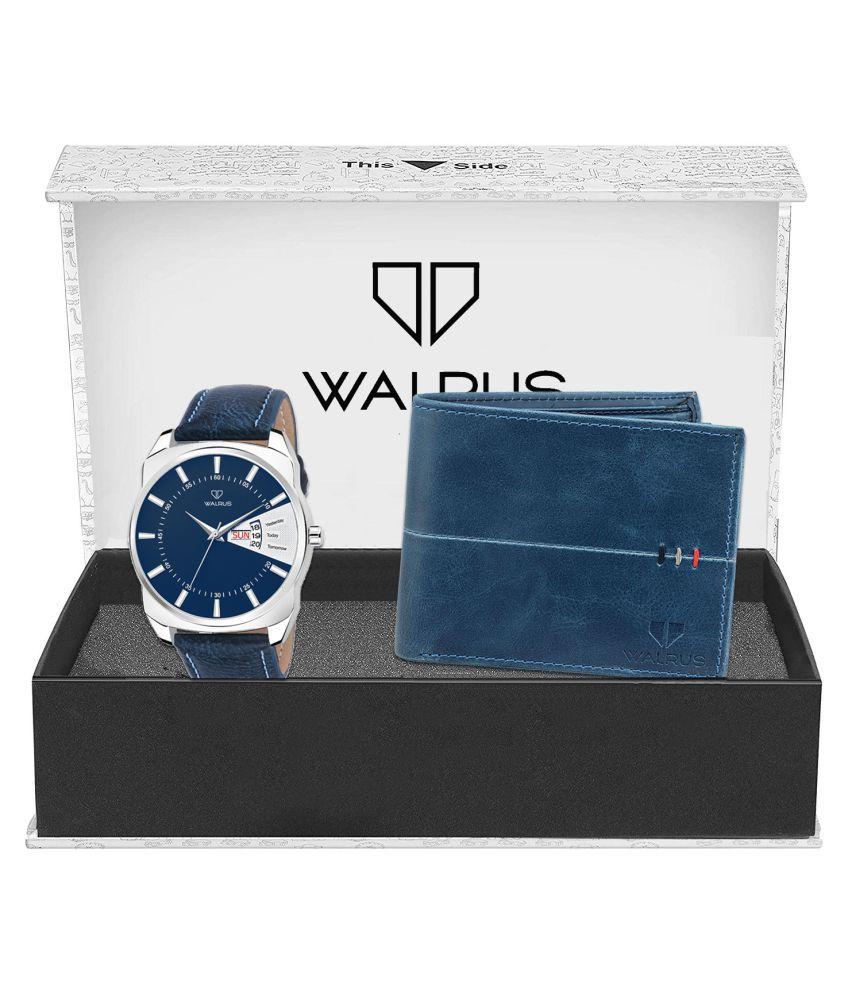 Walrus WWWC COMBO64 Leather Analog Men #039;s Watch