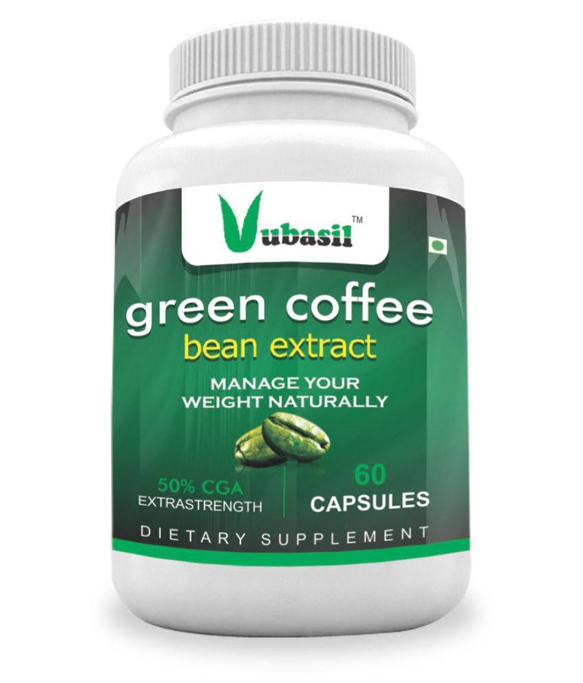 VUBASIL Herbal Green Coffee Extract Weight Loss Capsule 60 no.s Pack Of 1