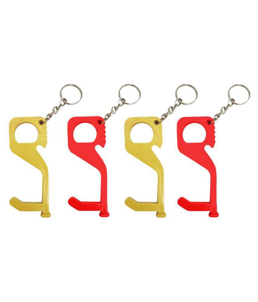Atyourdoor Multifunctional  Safe Key Chain/Door Opener/Bottle Opener