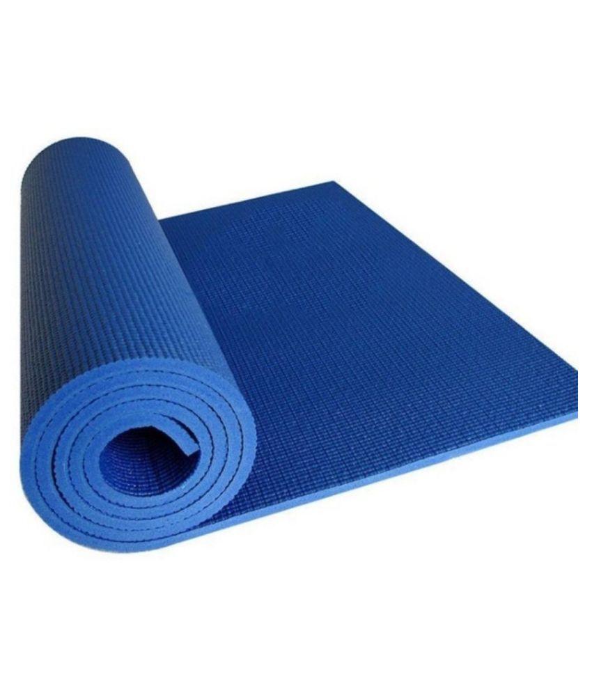 Bluebird  fashion Yoga Mats For Gym & Exercise (Blue)