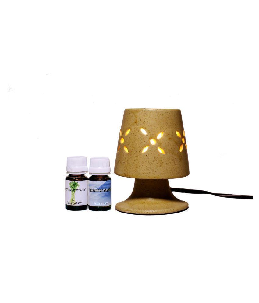 Pujya designs Ceramic Aroma Oils & Diffusers Set - Pack of 1