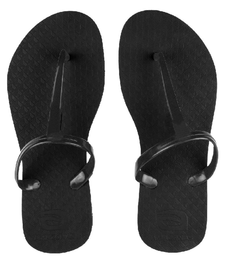AMAZONAS Black Slippers