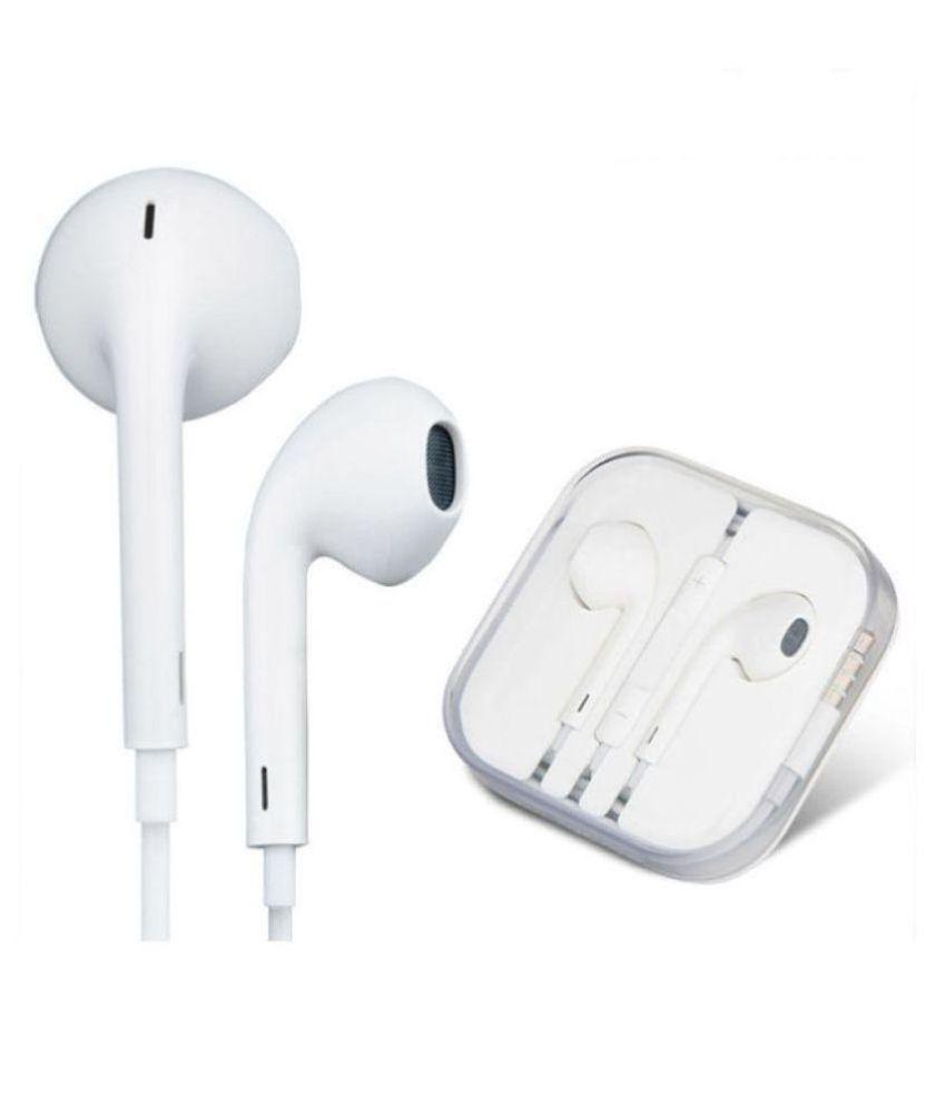 Sleek Woos iphone 4,5,5c,5s Earphone In Ear Wired With Mic Headphones/Earphones