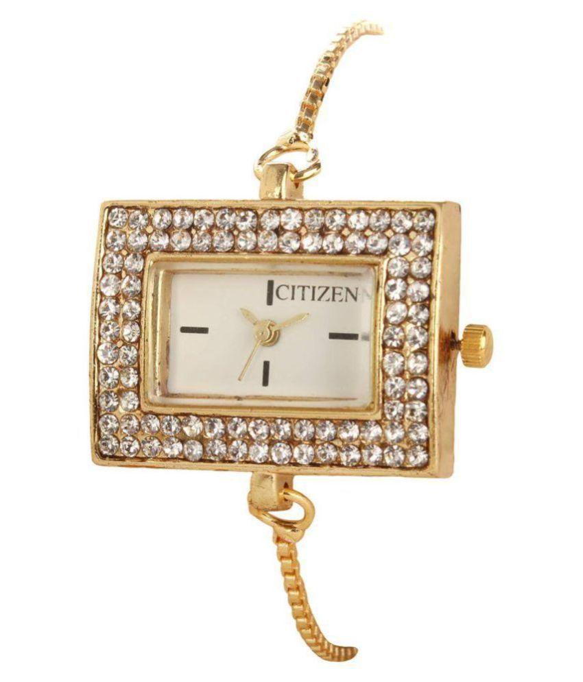 Navya Collection American Diamond Stylish Latest Design Designer Bracelet Watch for Women/Girls