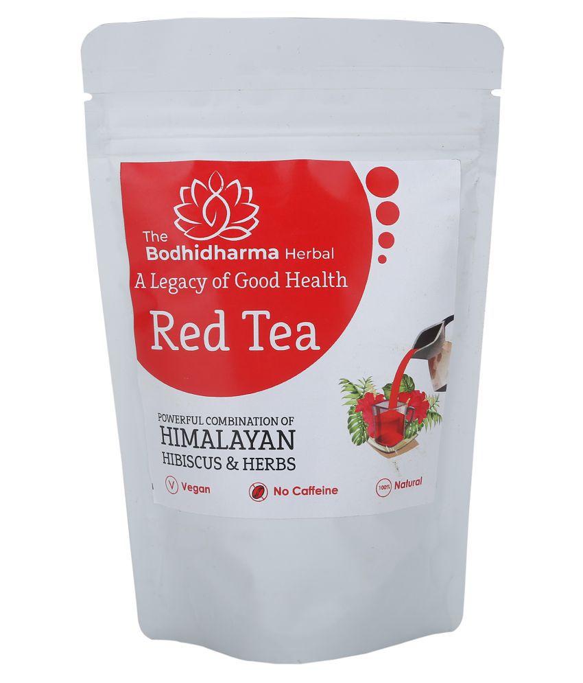 The Bodhidharma Herbal Hibiscus Tea Loose Leaf 50 gm