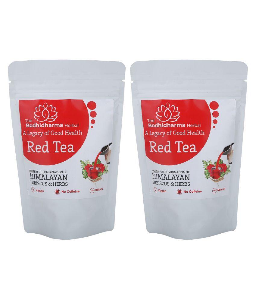 The Bodhidharma Herbal Hibiscus Tea Loose Leaf 200 gm