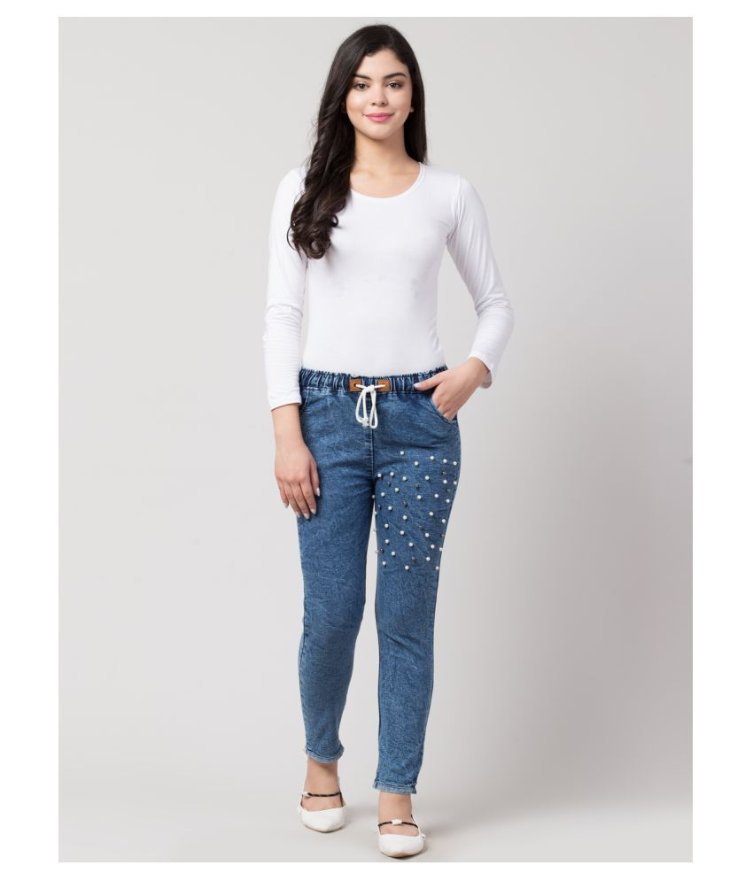 Ira Premium Collections Denim Jeans - Blue