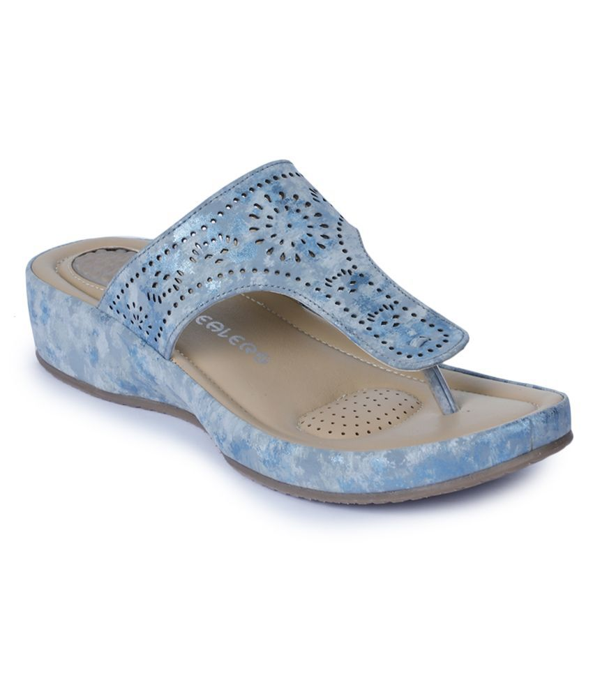 Liberty Blue Slippers