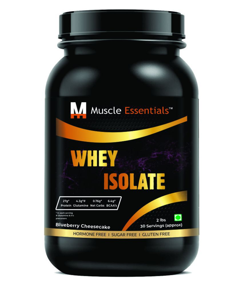 Muscle Essentials Whey Isolate 30 Servings (100% Whey Isolate) 2 lb
