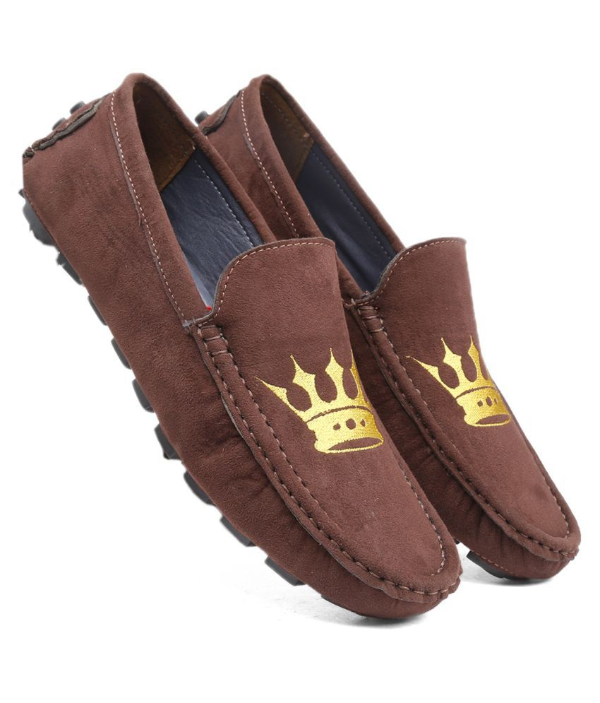 Global Rich Mules Brown Casual Shoes