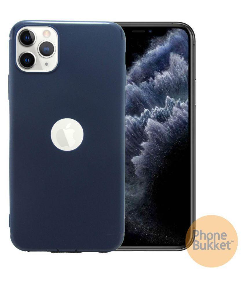 PhoneBukket Soft TPU Back Case for Apple iPhone 11 Pro (Blue)