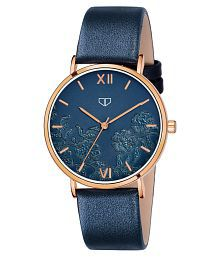 Walrus Leather Round Womens Watch