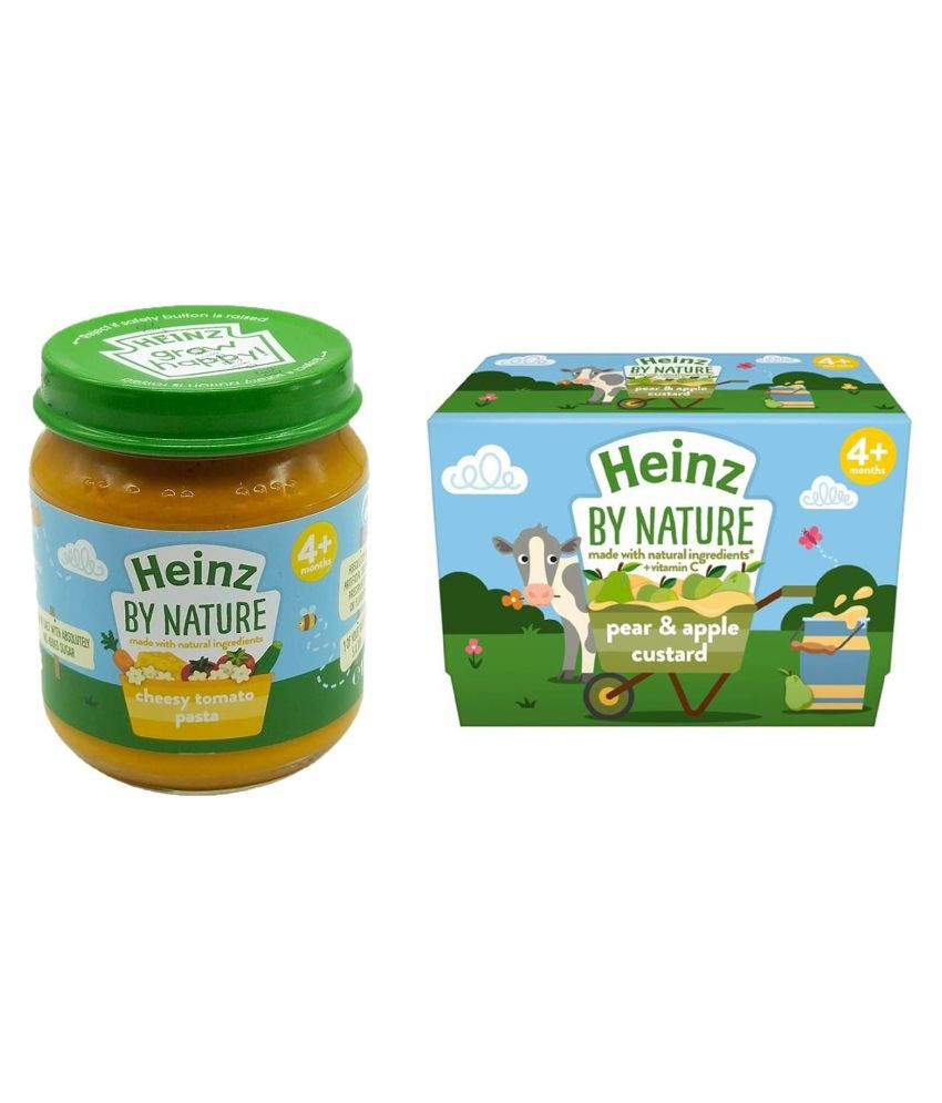 Heinz Cheesy  Pasta Snack Foods for 6 Months + ( 200 gm ) Pack of 2