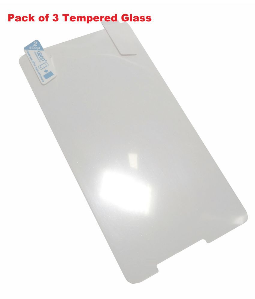Mi 2 Tempered Glass Screen Guard By Nainaan Limited Period Offer Of 3pcs Tempered Glass.