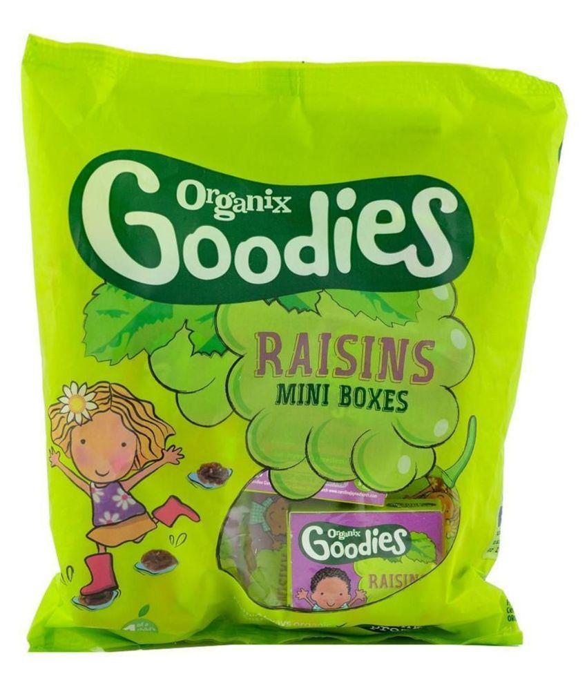 Organix Raisins Mini Boxes Snack Foods for 18 Months + ( 168 gm )