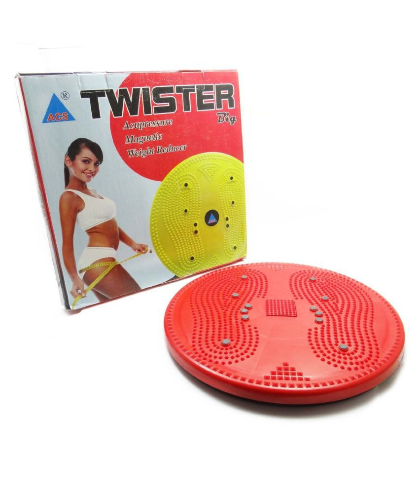 Tummy Twister Acupressure Twister (Magnets) Useful for Figure Tone-up Magnetic Twisting Machine Tummy Twister-Abdominal Trimmer-Waist Trimmer-Abs Exerciser-Body Toner-Fat Buster