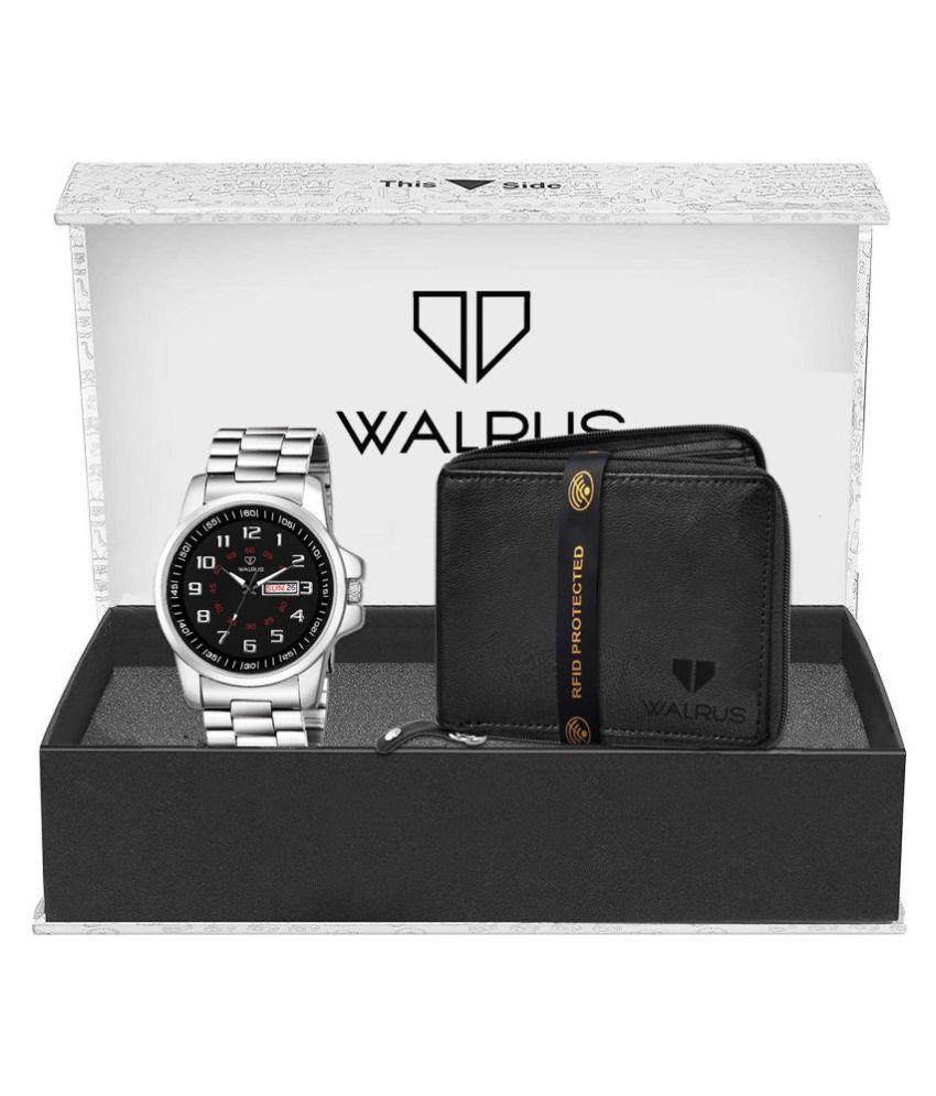 Walrus WWWC COMBO80 Stainless Steel Analog Men #039;s Watch