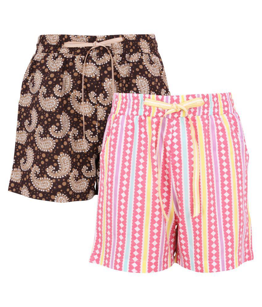 Smart casual Printed Shorts