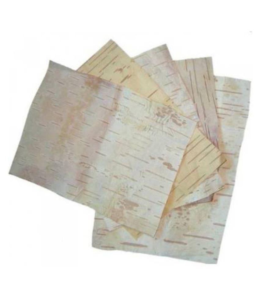 Original-Bhojpatra-Sheet-Bhoj-Patra-Sheet-3-x-3-Inches-3-Sheets - Padmavathi Enterprises