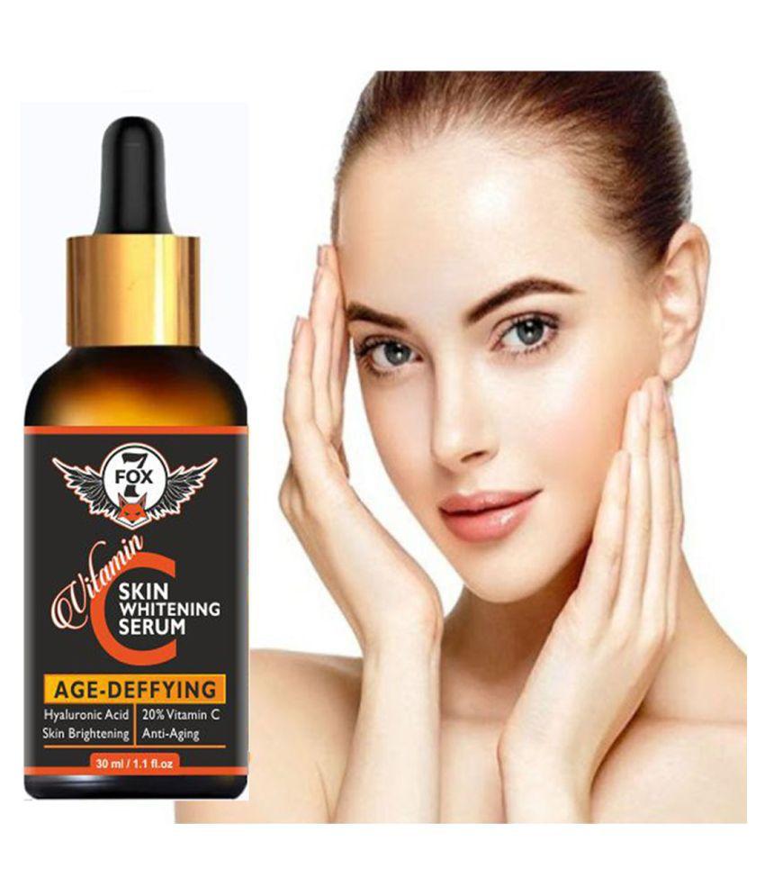 7 FOX Vitamin C Whitening Face Serum - Skin Brightness Face Serum- Face Serum SPF 2 30 mL