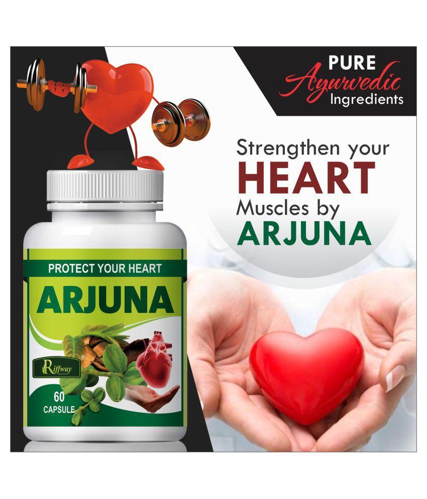 Inlazer Arjuna Tea Improving Muscle   Capsule 60 no.s Pack Of 1