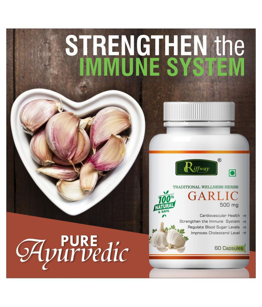 Inlazer Garlic regulate blood sugar level  Capsule 60 no.s Pack Of 1