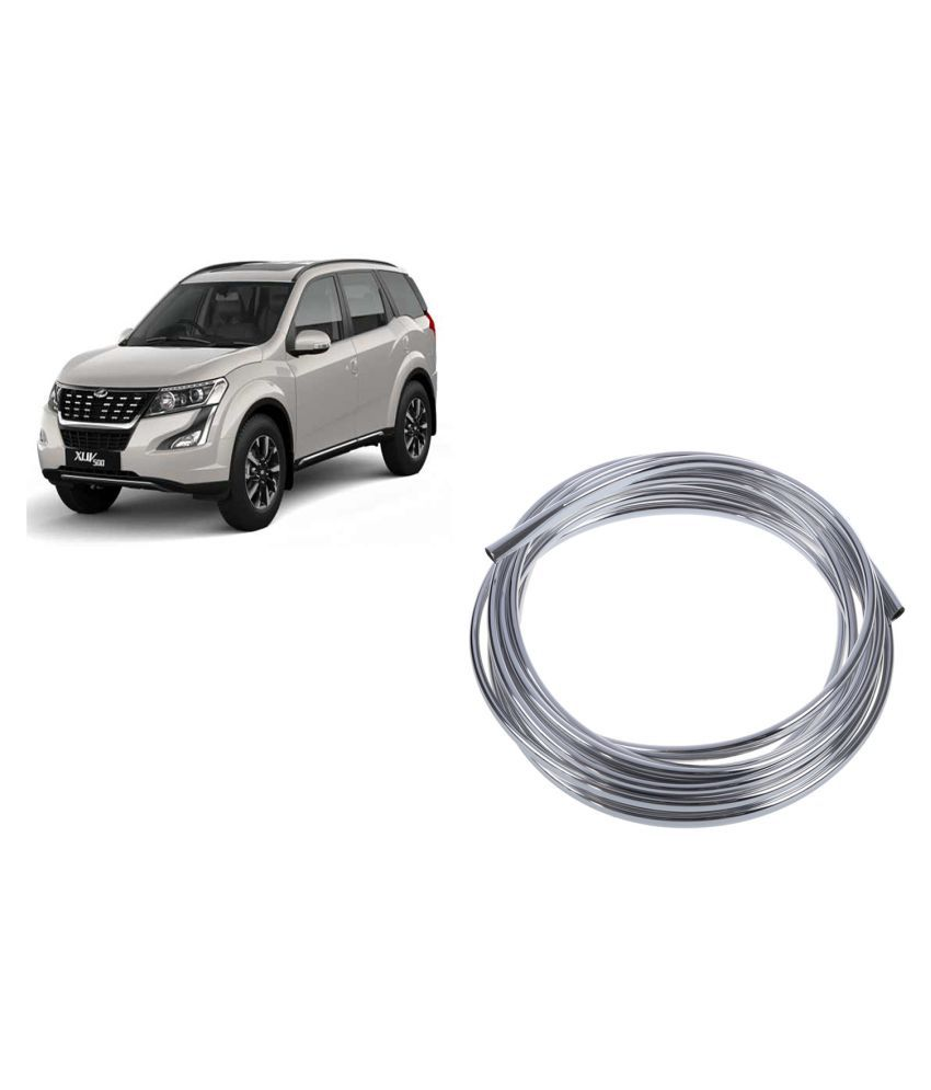 Takecare Chrome Styling In Car Decor Silver