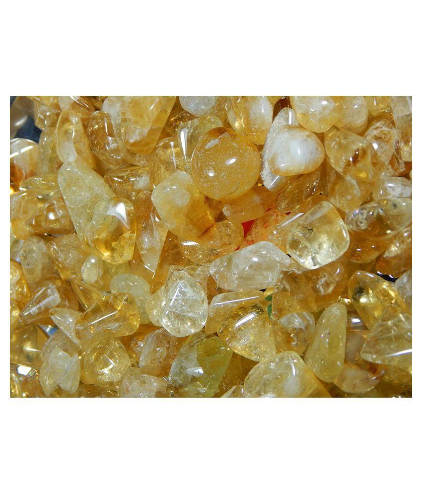 Urancia® Citrine Yellow Sapphire Sunela Gem Stone 50Cts Lot Offer