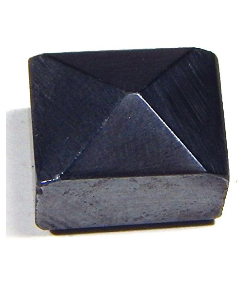 Urancia® Natural Polished Magnetite Loadstone Leading stone Hematite Magnet 23.5Cts for Ring,Locket