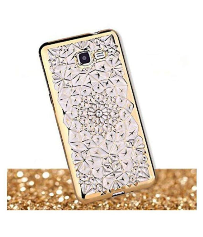 Samsung J7 Prime 2 3D Back Covers By Samsung Galaxy Glitter Diamond Back Cover
