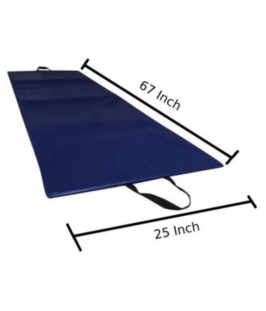 Child Craft PU Leather Yoga Mat With Extra Thickness 10 mm Yoga Mat