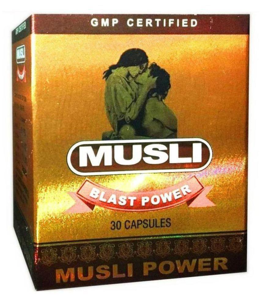 Dr Chopra Musli Blast Power (30x2=60) Capsule 30 no.s Pack Of 2