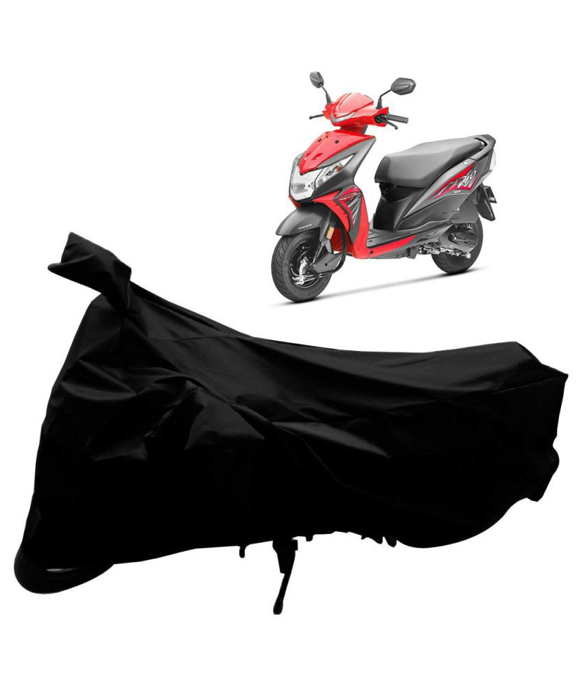 R & B Enterprises Black Water-Resistant Scooty Body Cover for Honda Dio