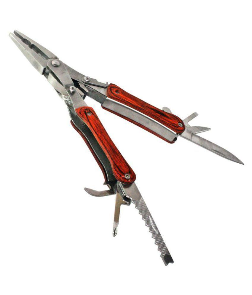 Multi Pliers Army Swiss Knife Hammer Hand Camping Outdoor Tool Spanners