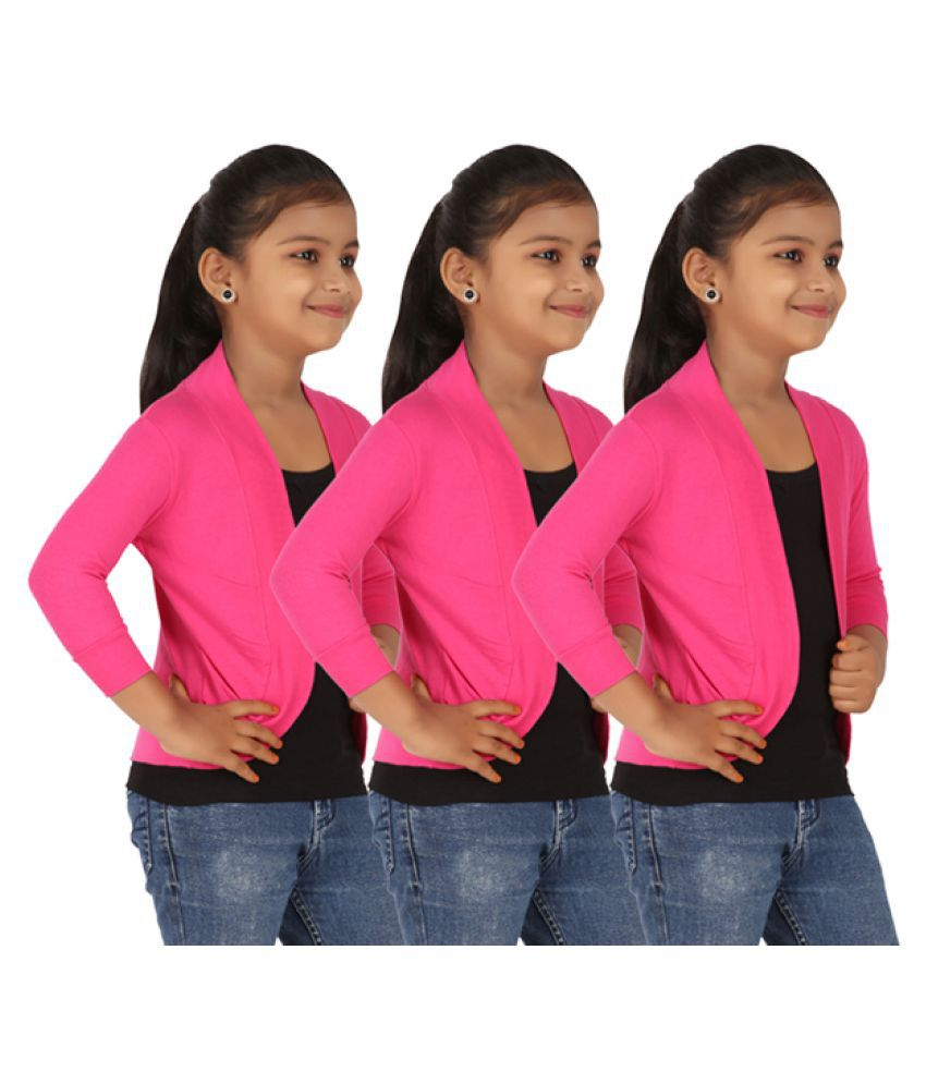Belonas Girls Shrug pack of 3